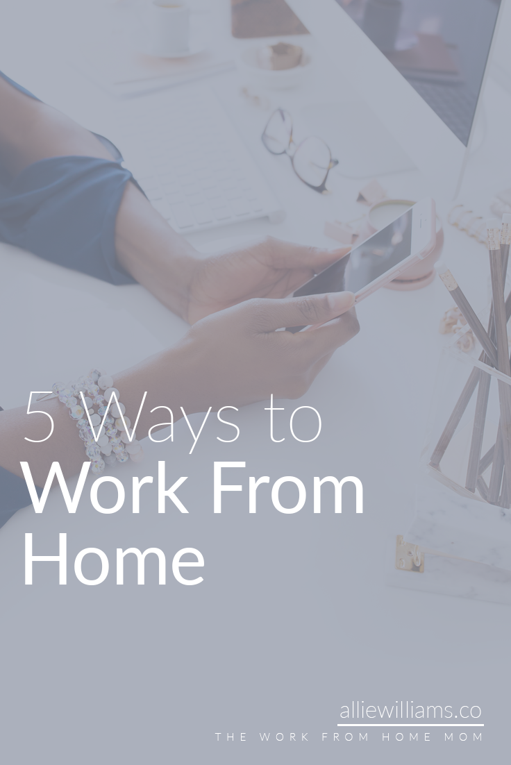 Working from home is the dream, right? It's something you always think about, but never really talk about because it's that unspoken desire that everyone has and doesn't mention. Most people want to work from home (or the road, or a plane, or a mountain) but won't ever take the steps necessary to actually begin the process. And it is a process. Before I start in on the list of 5 ways to work from home...