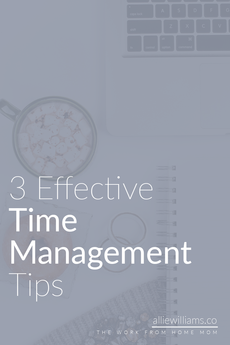 Time management is a huge issue for anyone running a business. Whether you run your business full time or are trying to go full time as an entrepreneur, these strategies have always worked for me so I hope you will give them a try.