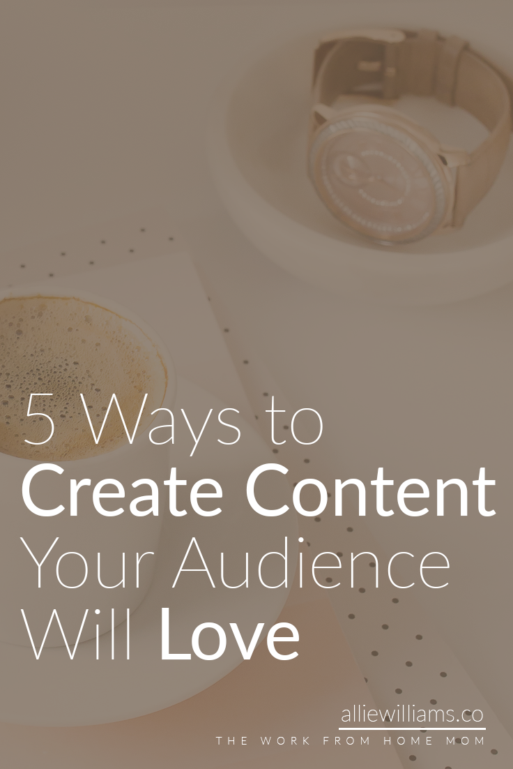 Publishing blog posts doesn't need to feel like a plunge into the unknown. There are actually ways you can almost guarantee your success. I'm going to share with you 5 easy ways to create content you know your audience will love. Click through to read my strategies, plus get access to my FREE resource library!