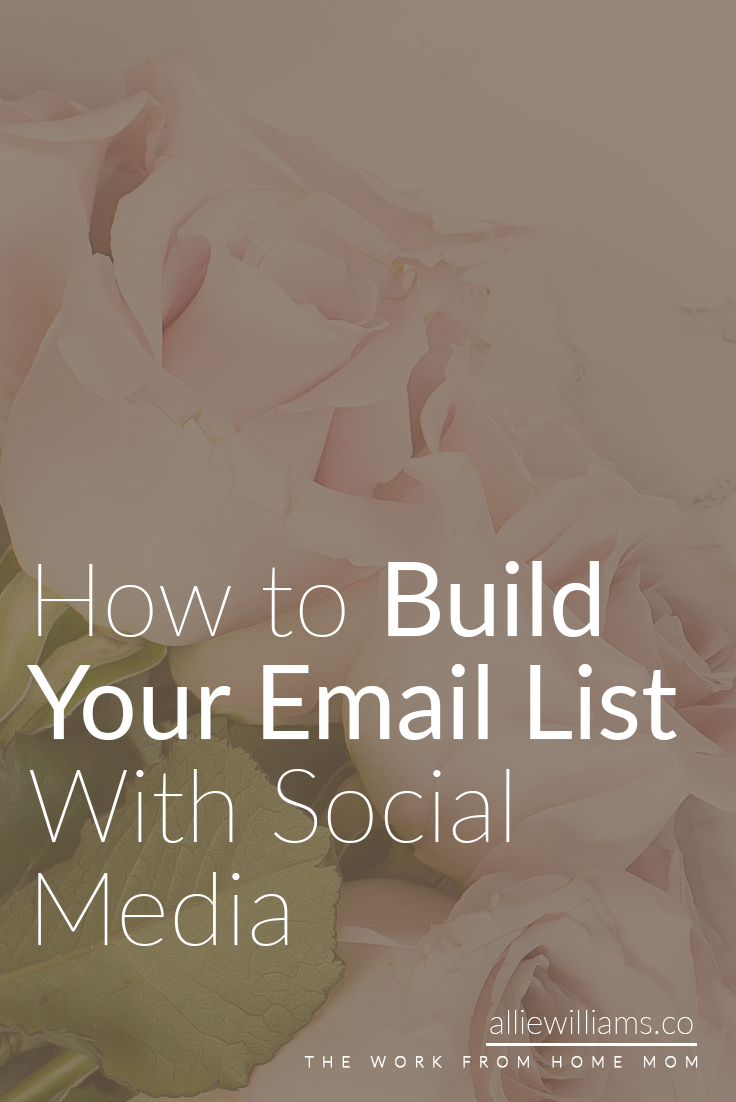 ...But everyone is missing the BEST and EASIEST and CHEAPEST way to build your email list. Click through to read my tips and tricks, plus grab my FREE social media time tracker spreadsheet!