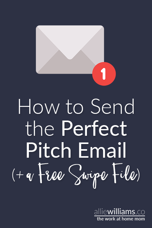 How to send the perfect pitch email + a free swipe file!! Get the exact email I send to cold leads, word for word. www.alliewilliams.co