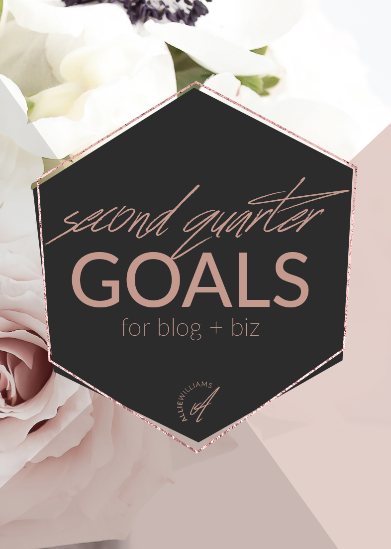 I haven't blogged personally in quite a while. I LOVE sharing all the virtual assistant stuff with you and what working at home is like, but I also really love to share my heart and my dreams and my goals. Today, I'd like to list out my goals for the 2nd quarter with you and open up the floor to discussing YOUR goals.