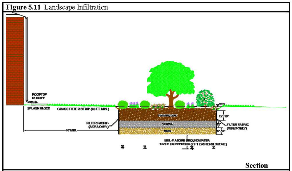 Landscape Infiltration