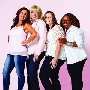 REAL WOMAN  FIGHT OF THEIR LIVES Four women from completely different backgrounds, all faced with a battle with breast cancer when they least expected it.