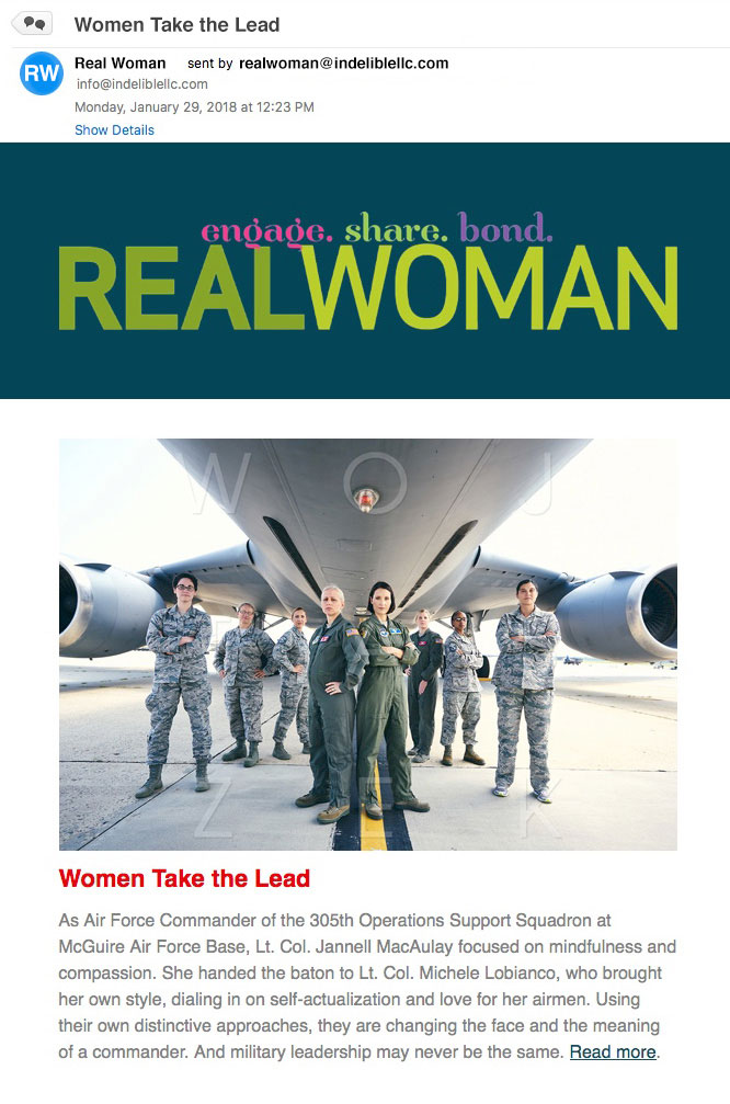 Real Woman Newsletter