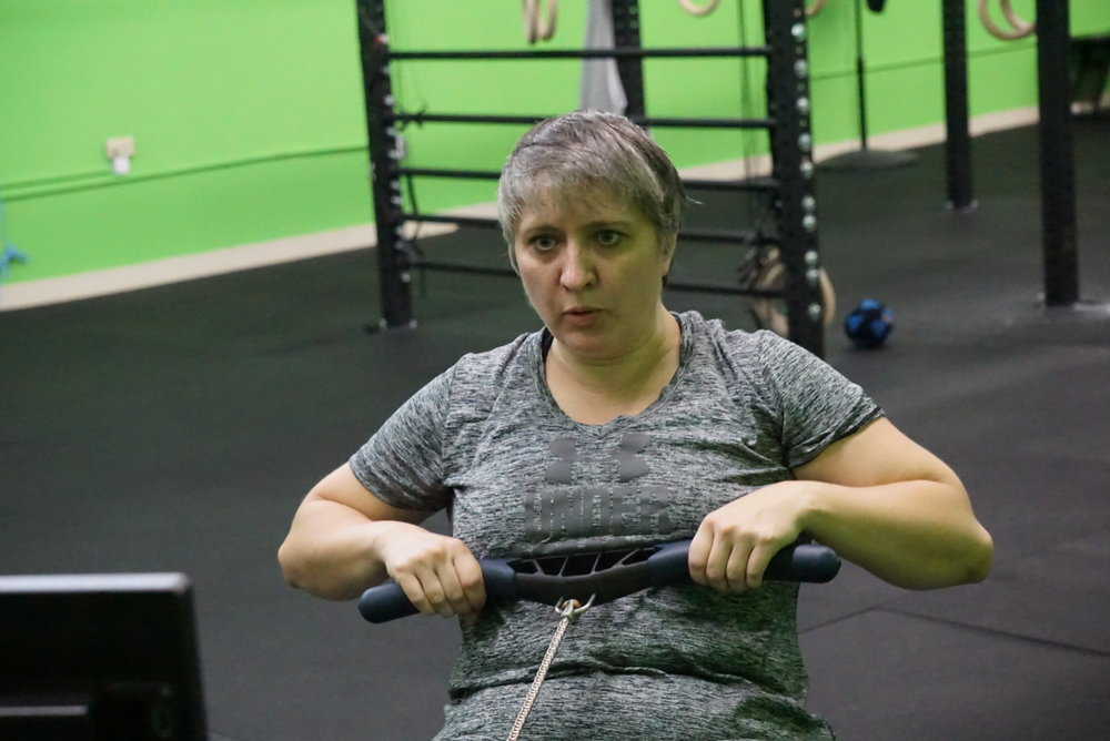 5/5 stars -I cannot say enough of how positive my experience has been since I joined the crossfit Alacrity family. This group of crossfitters are dedicated, hard working goal setters that welcome ALL who walk through the doors with open arms. I have only been a member for a little over a month and it's the best decision I have made. The coach, Alex Haskins, is incredible! He takes the time to not only ensure that you have correct form but is there to help you with nutrition and your goals, he is very attentive and shows genuine heartfelt concern with each and every person to ensure that you have everything you need to reach your fitness goals, taking the time to talk to you while celebrating your successes with you! I highly recommend Crossfit Alacrity if you are considering joining the crossfit family!!!  -  from CrossFit Alacrity Facebook Reviews