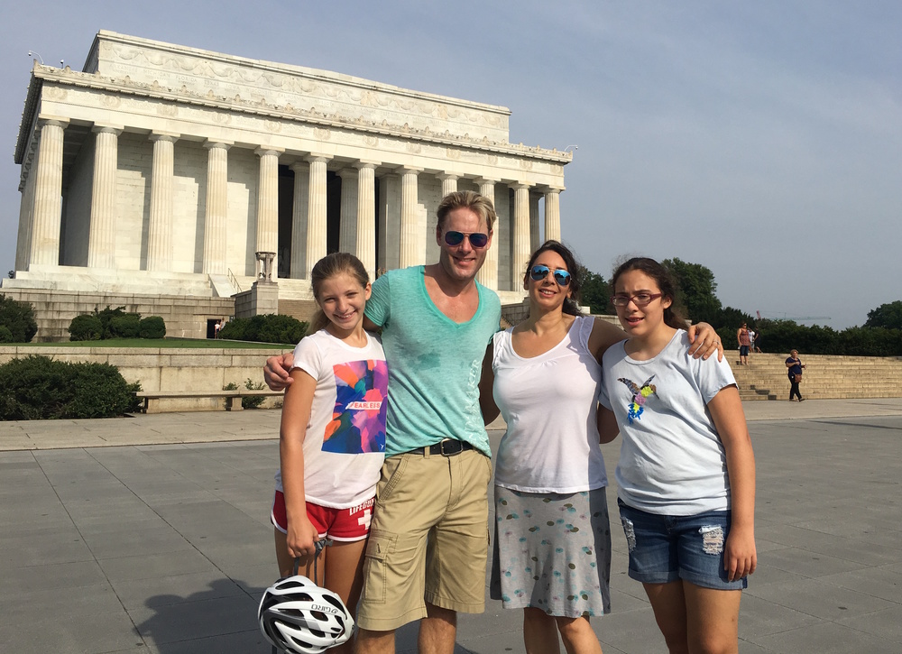 Even though Lisa grew up near and lived in DC, she loved not having to figure out the route