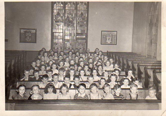 Kensington United Sunday School, 1948