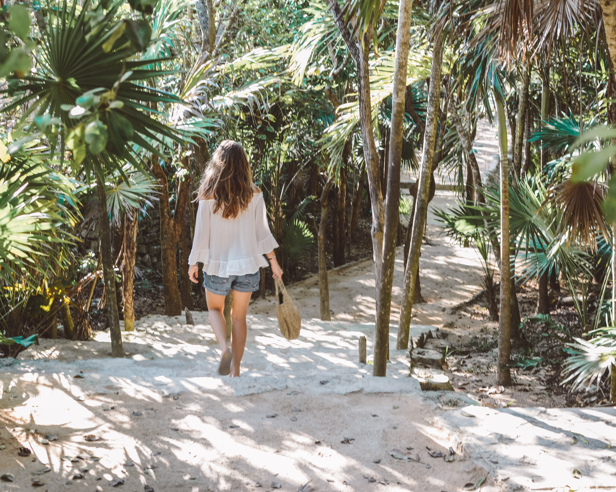 Wandering the Tulum Ruins