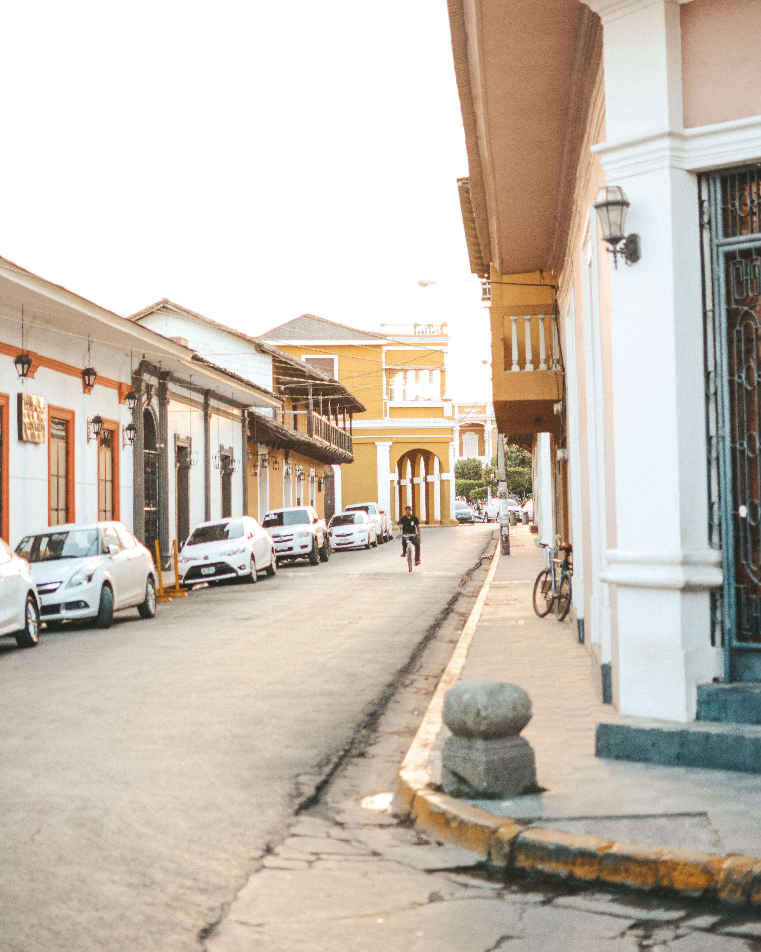 The streets of Granada, Nicaragua