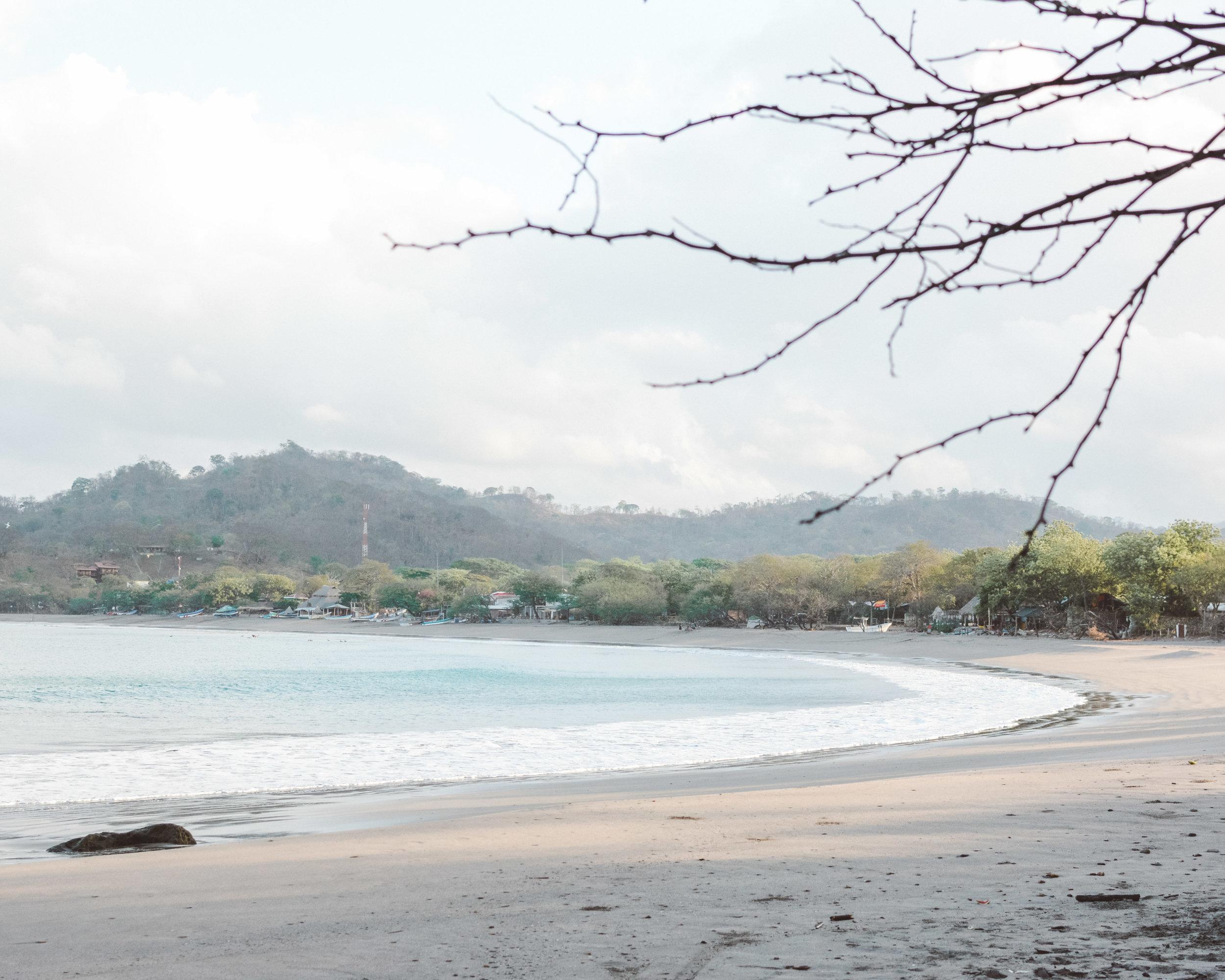 The bay of Gigante, Nicaragua