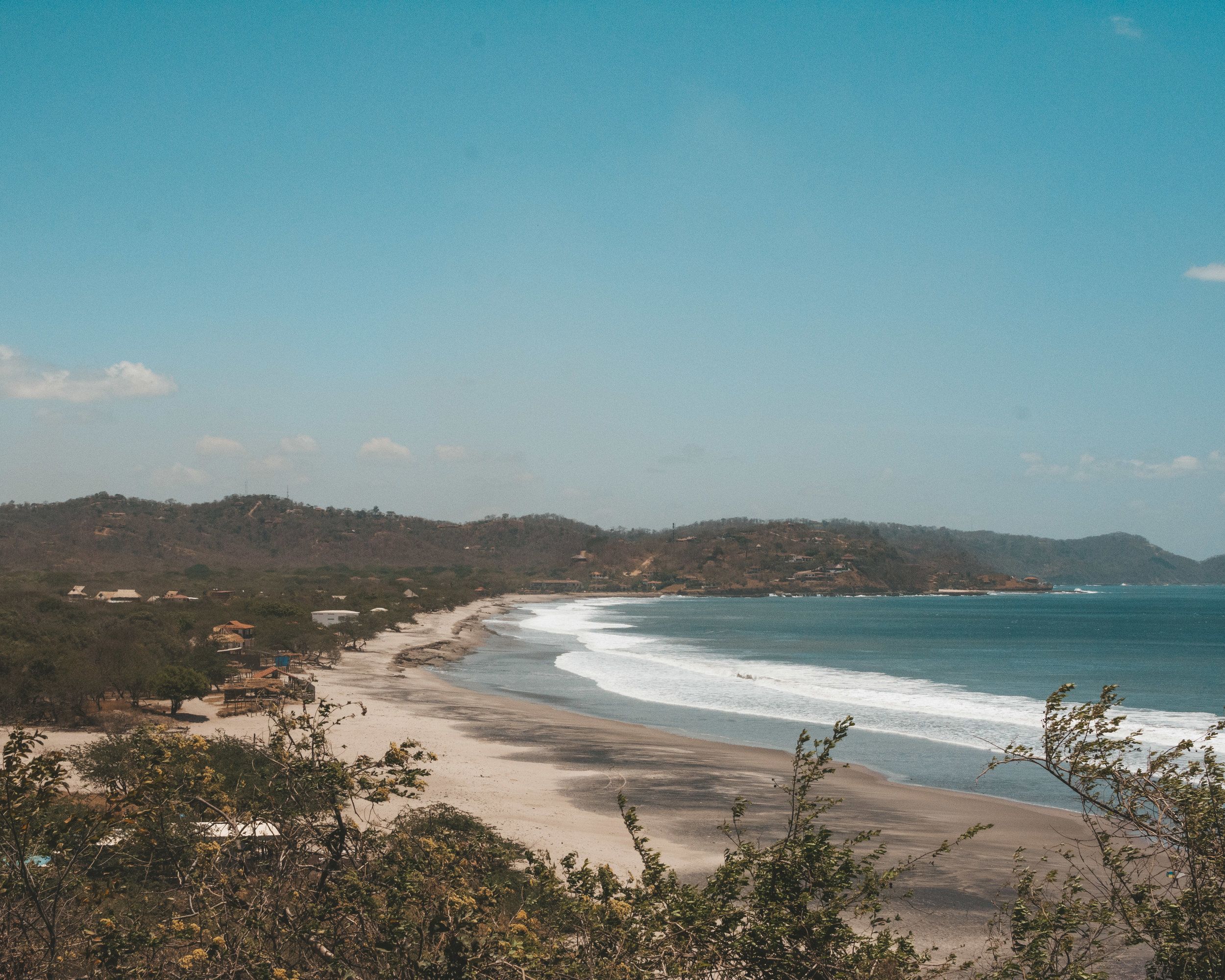Views of Popoyo, Nicaragua