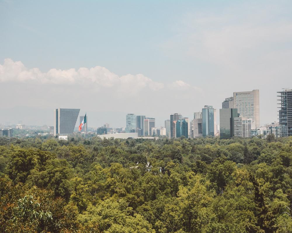 Views of Chapultepec Park, Mexico City