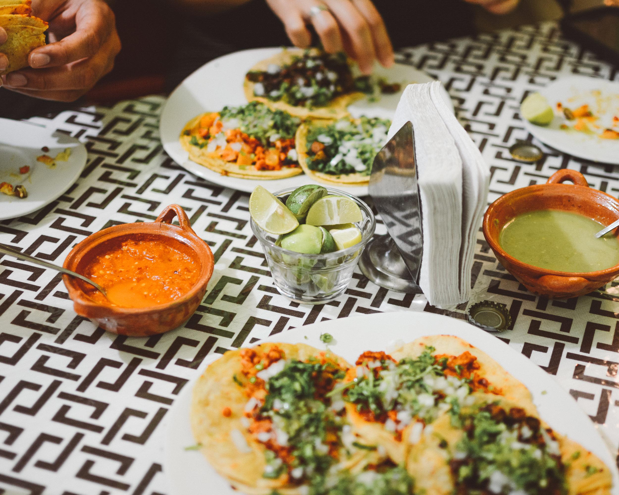 Vegan Tacos, Mexico City