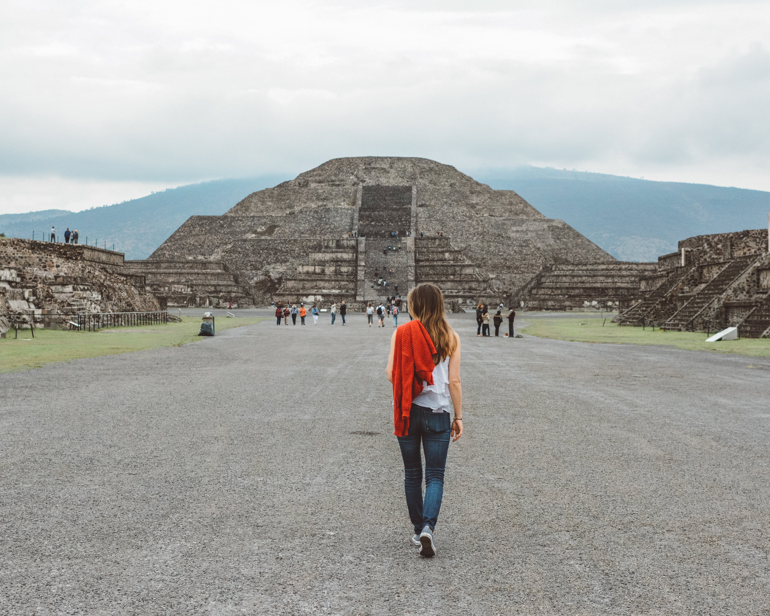 Teotihuacan Ruins, Outside Mexico City