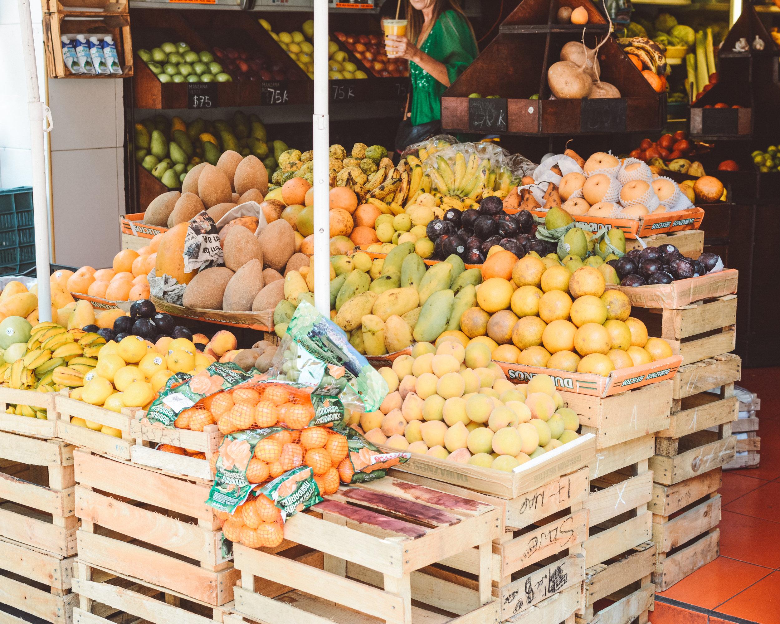 Fruit Shop, Mexico City