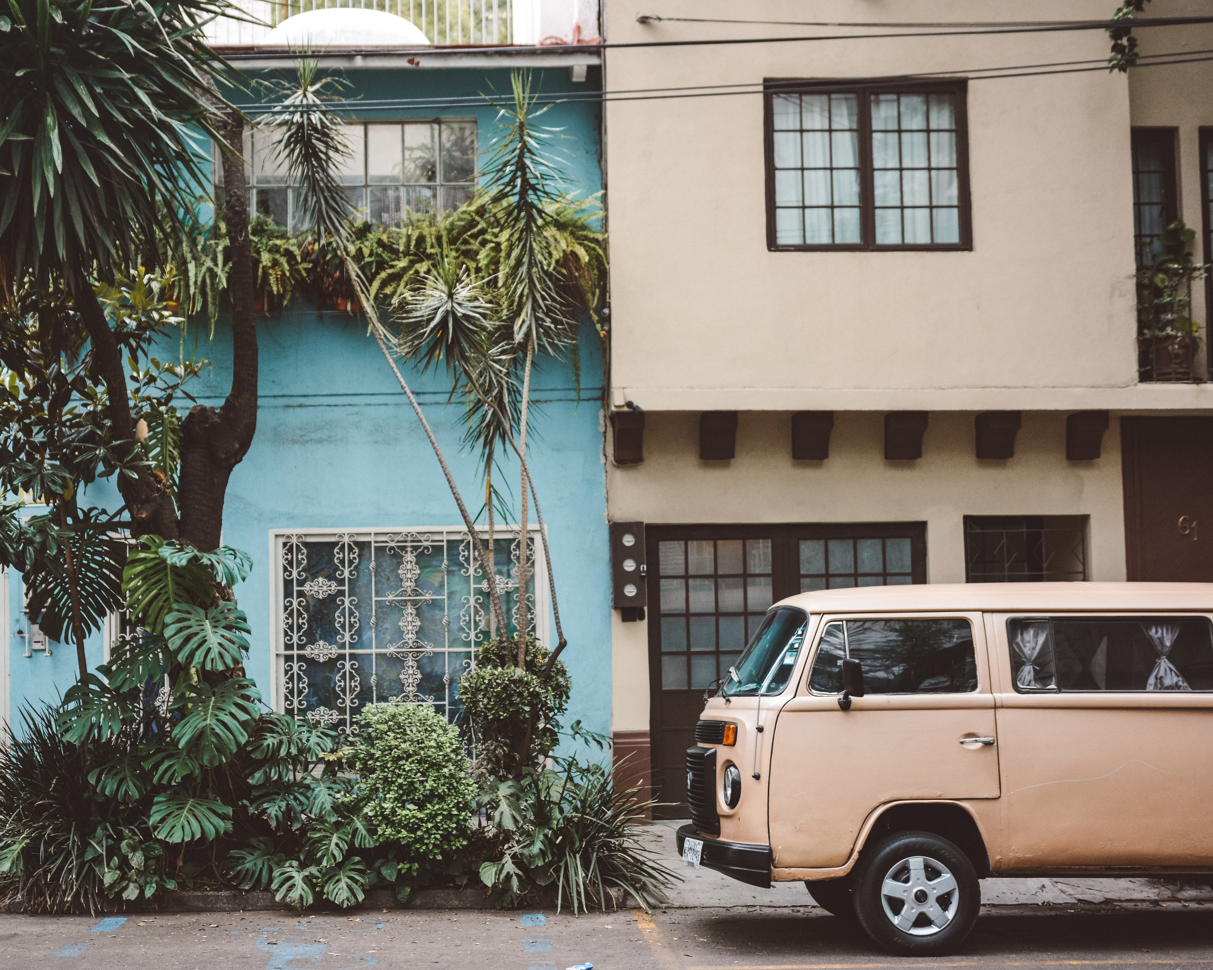 Condesa Neighborhood, Mexico City