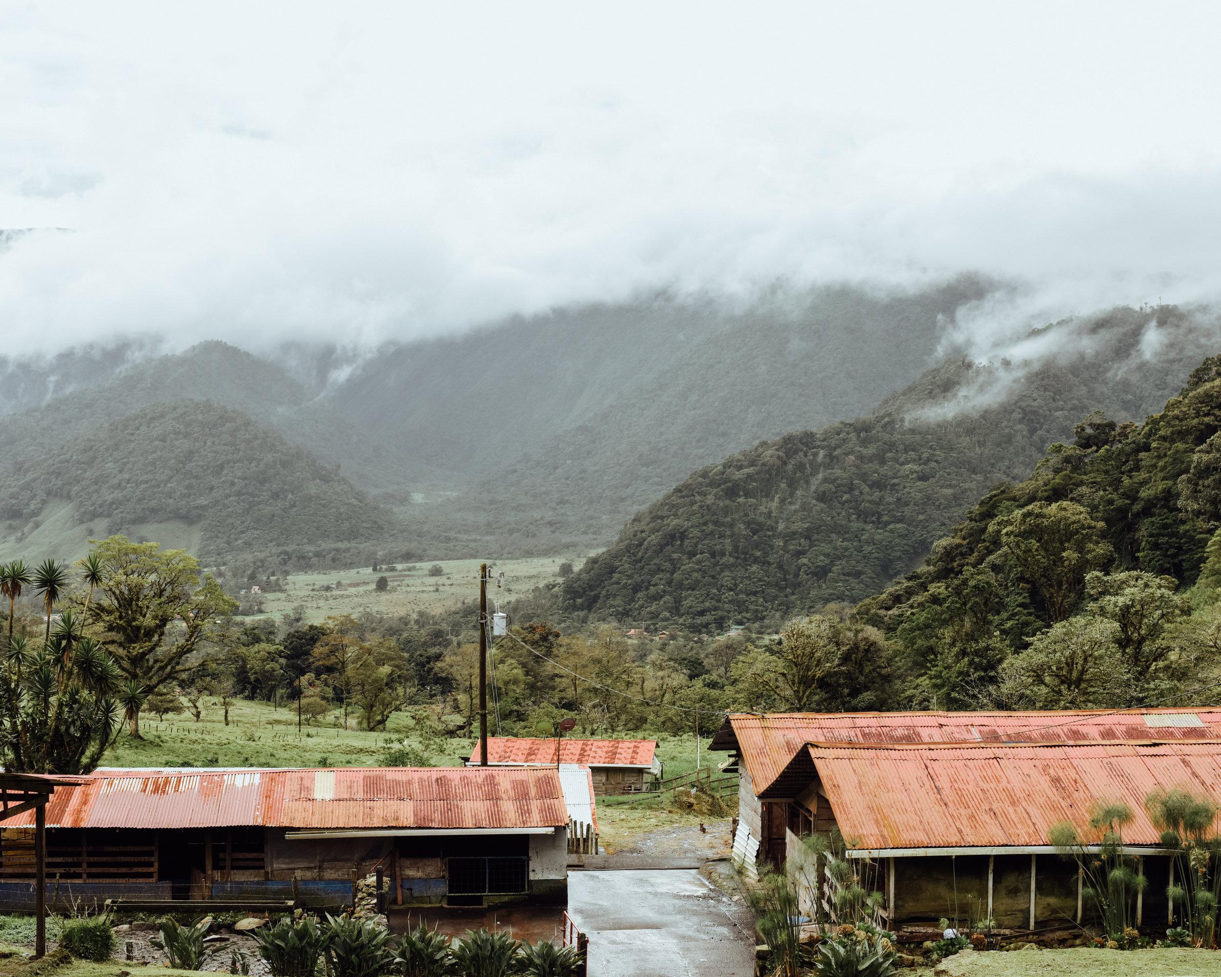 View from Aurora Lodge, Bajos del Toro
