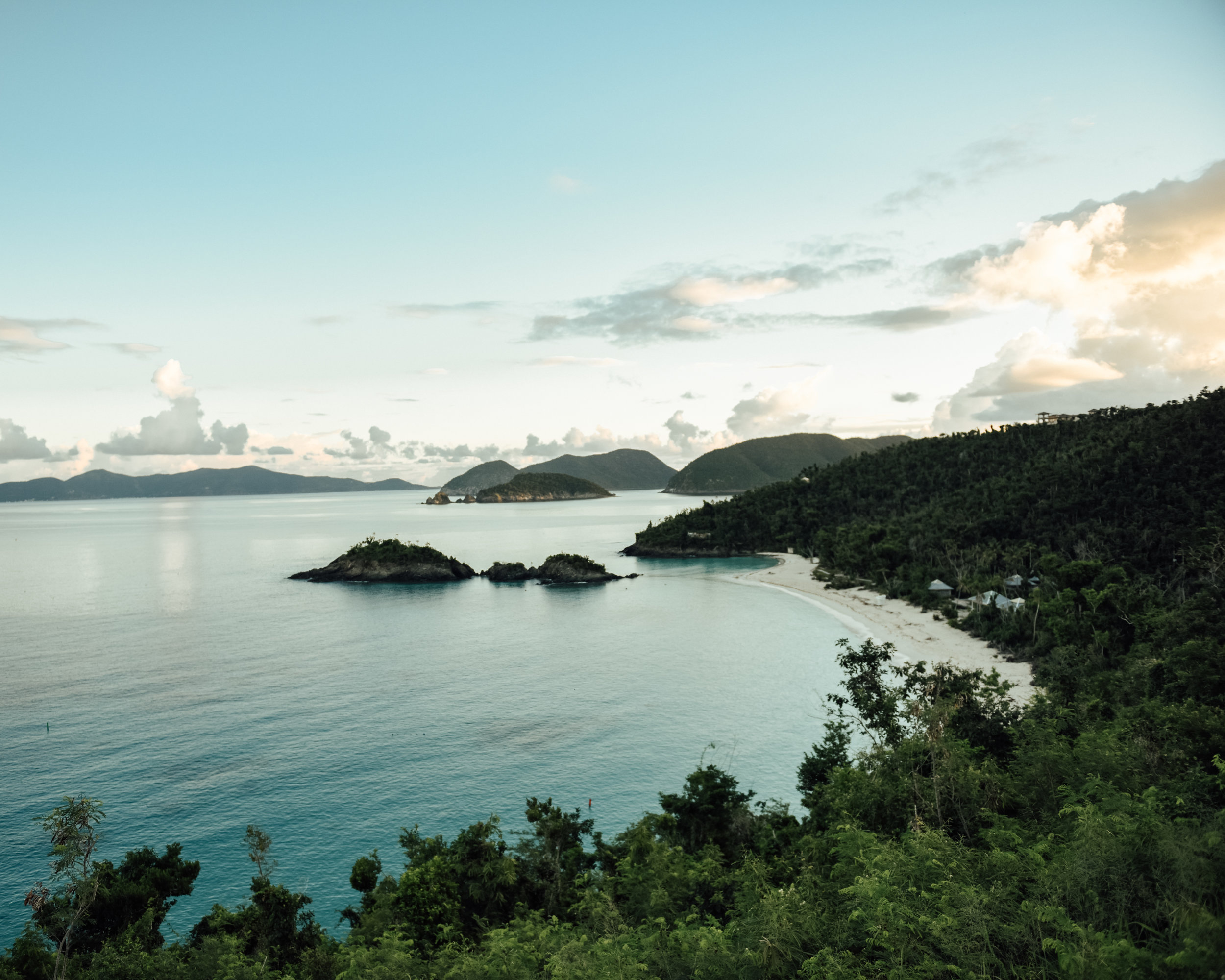 Views of Trunk Bay, St. John, USVI