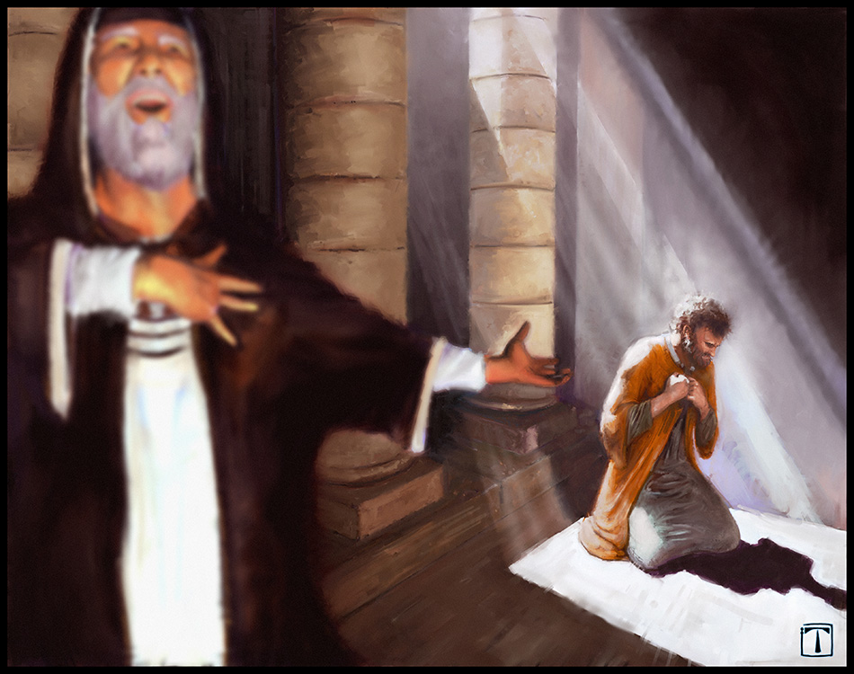 Parable of the pharisee and tax collector - 1 8