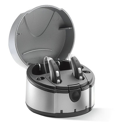 Siemens Rechargeable Hearing Aids and eCharger