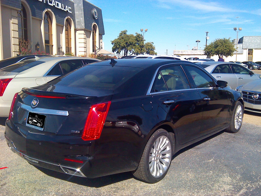 2014+ Cadillac CTS Sedan Flush Mount Spoiler