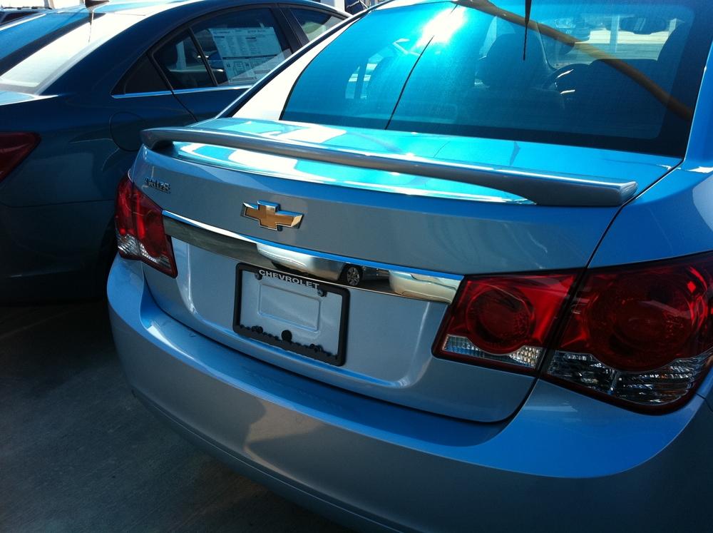 2012+ Chevrolet Cruze 2-Post Spoiler
