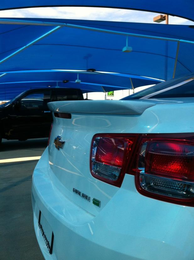 2012+ Chevrolet Malibu Flush Mount Spoiler