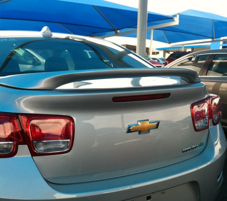 2012+ Chevrolet Malibu 2-Post Spoiler
