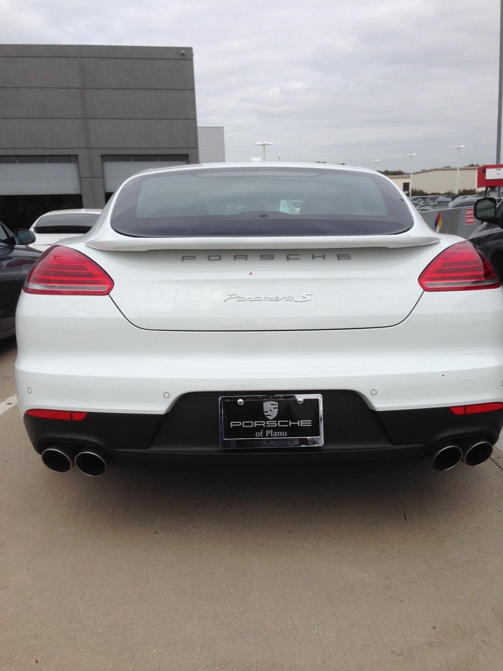 2014+ Porsche Panamera