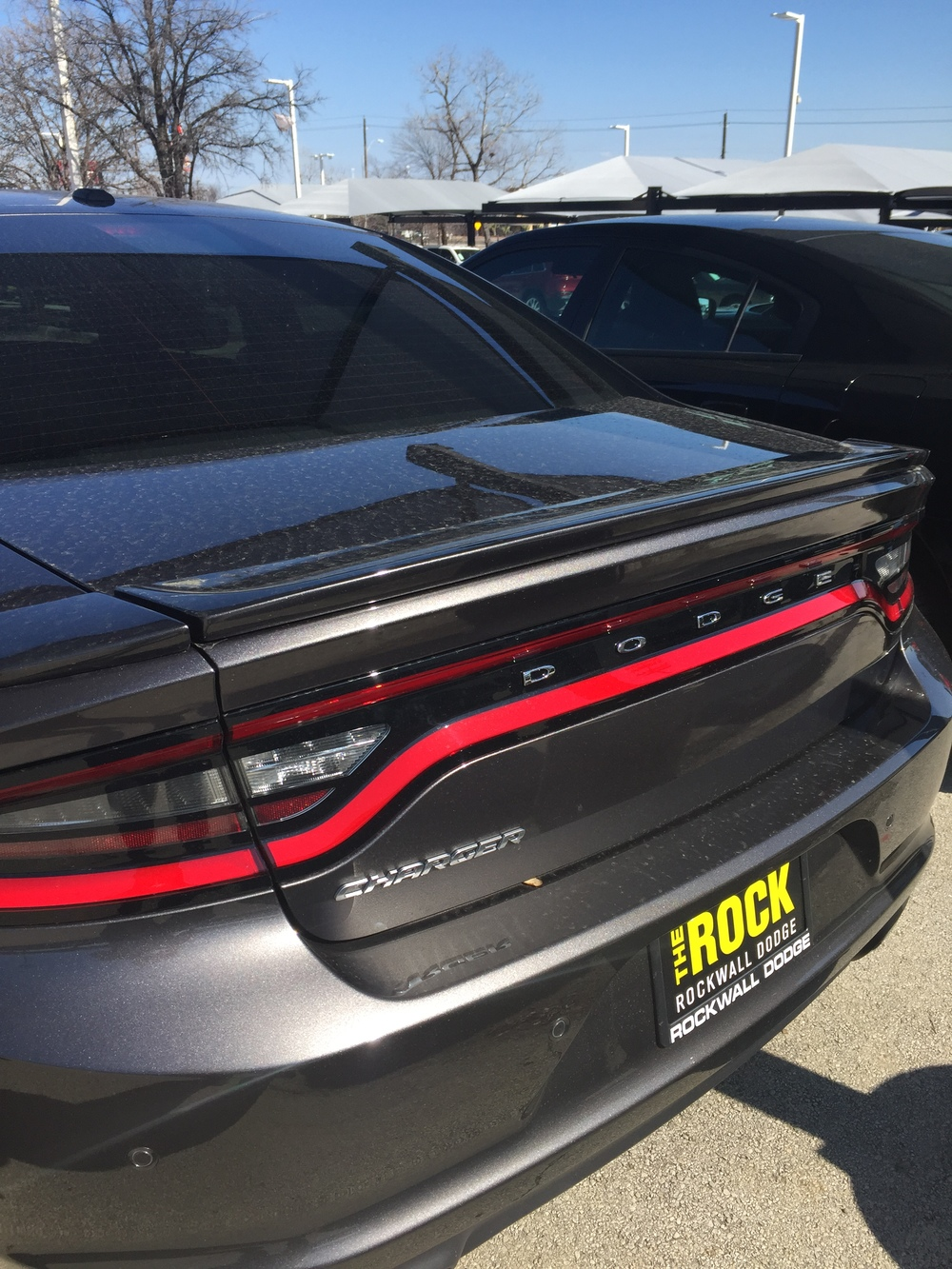 2015+ Dodge Charger 3-Piece Flush Mount Spoiler