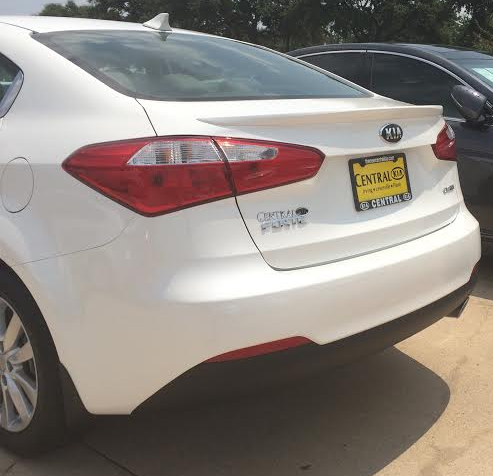 2014+ Kia Forte Sedan Flush Mount Spoiler