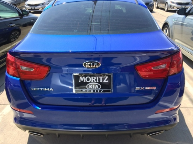 2014-2015 Kia Optima Custom Flush Mount Spoiler