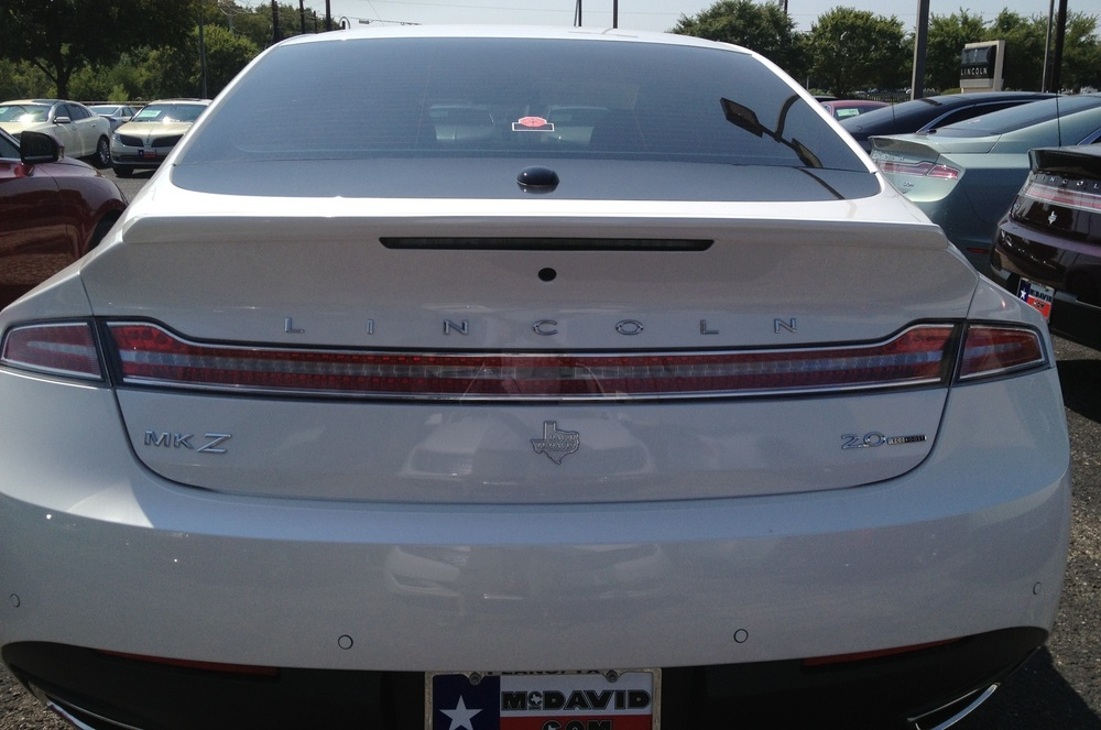 2014+ Lincoln MKZ Flush Mount Spoiler
