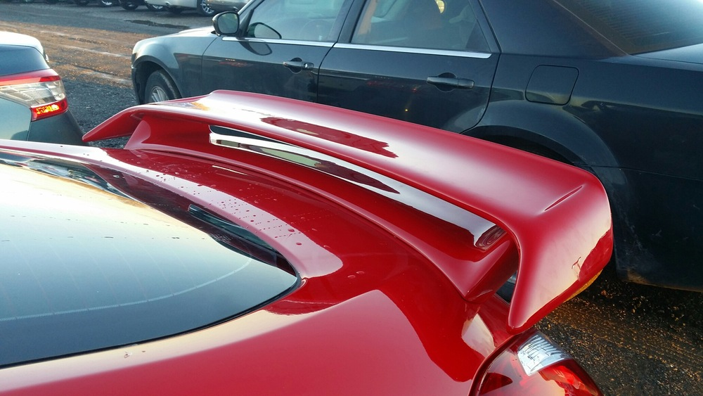 2009+ Nissan 370Z Factory Style Racing Spoiler
