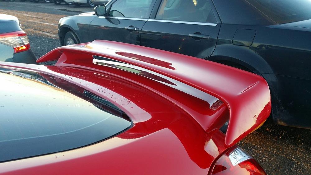 2009+ Nissan 370Z Factory Style Racing Spoiler