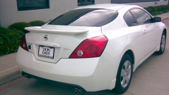 2008-2012 Nissan Altima Coupe Flush Mount Spoiler
