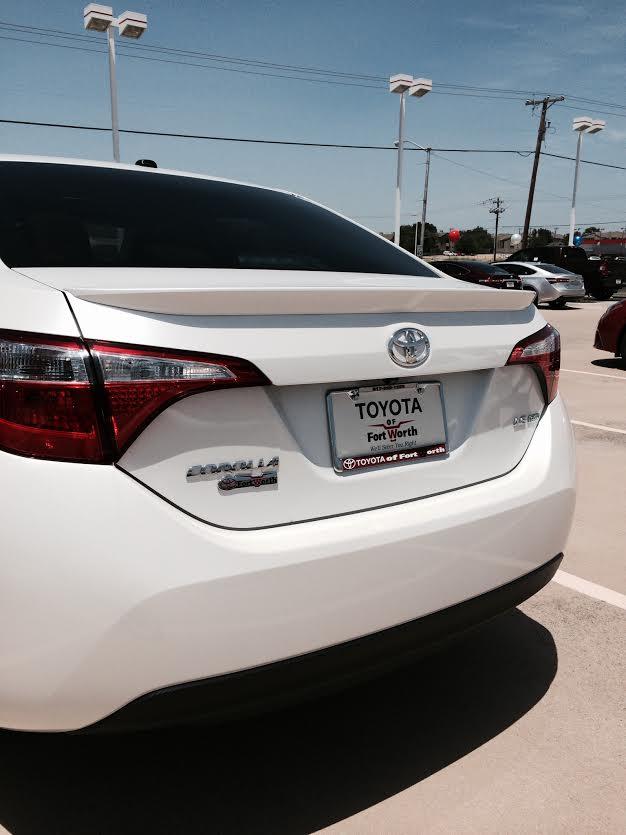 2014+ Toyota Corolla Flush Mount Spoiler