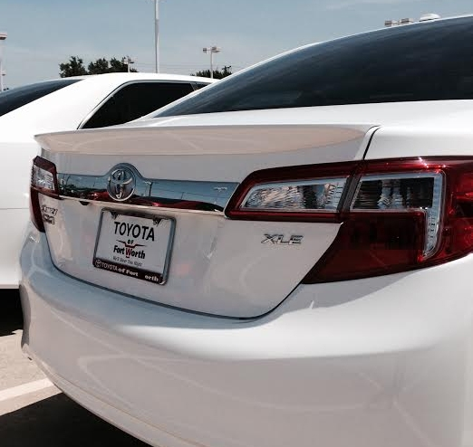 2012-2014 Toyota Camry Flush Mount Spoiler