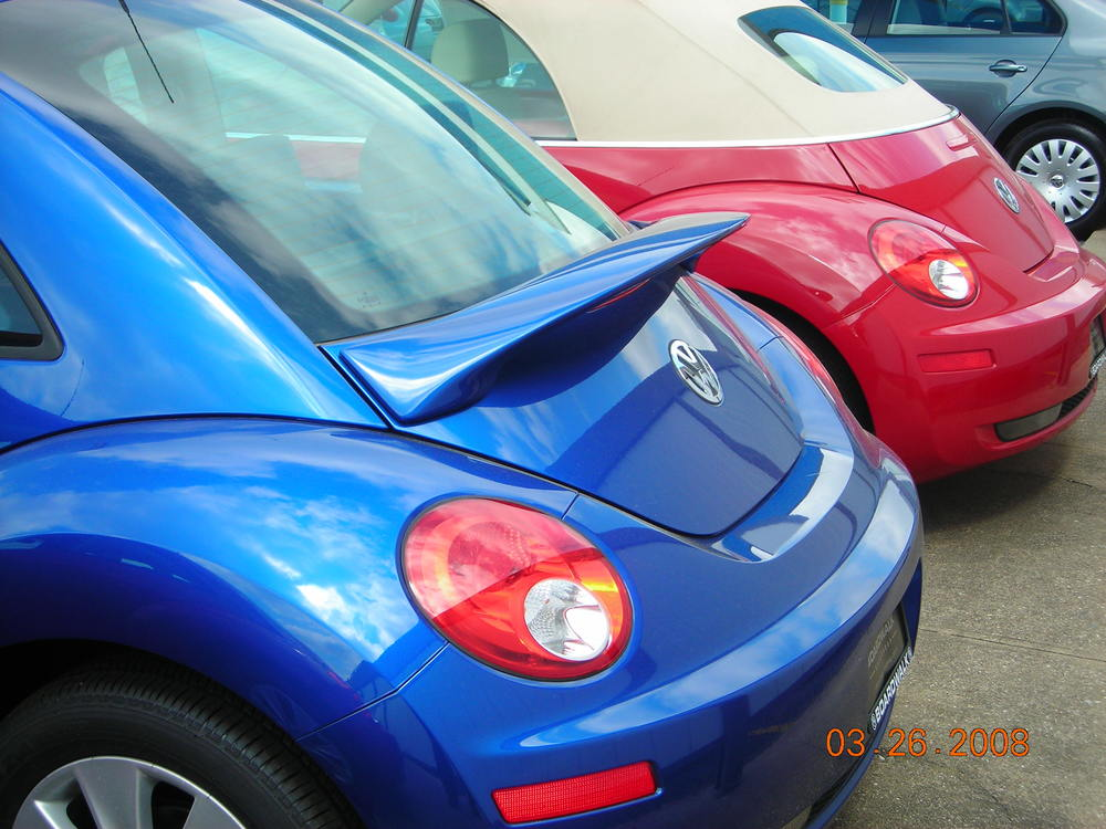1998-2011 VW Beetle Flush Mount Spoiler