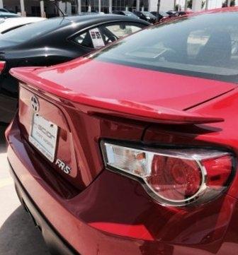 2012+ Toyota FR-S Flush Mount Spoiler