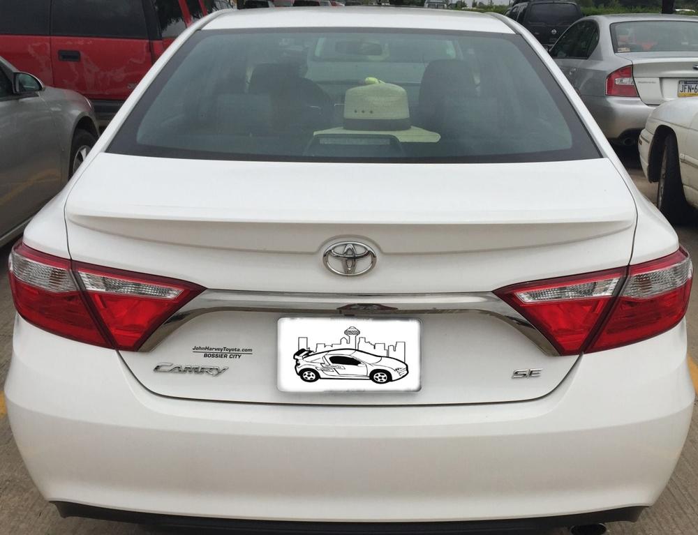 2015+ Toyota Camry Flush Mount Spoiler