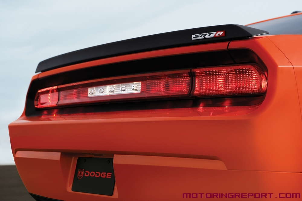 2008-2014 Dodge Challenger Factory Style Flush Mount Spoiler