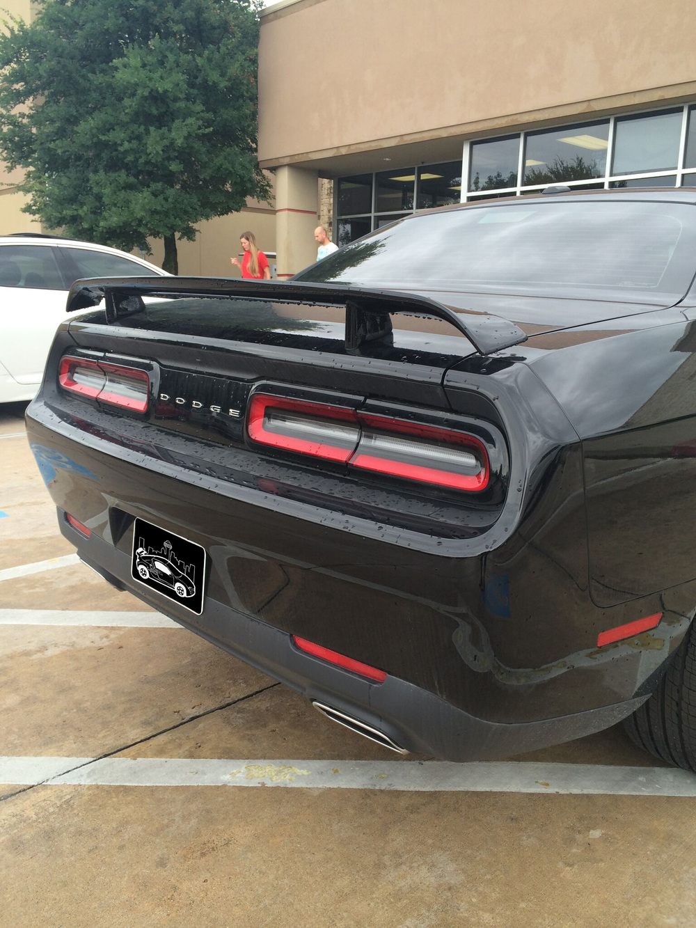 2008+ Dodge Challenger 2-Post Spoiler