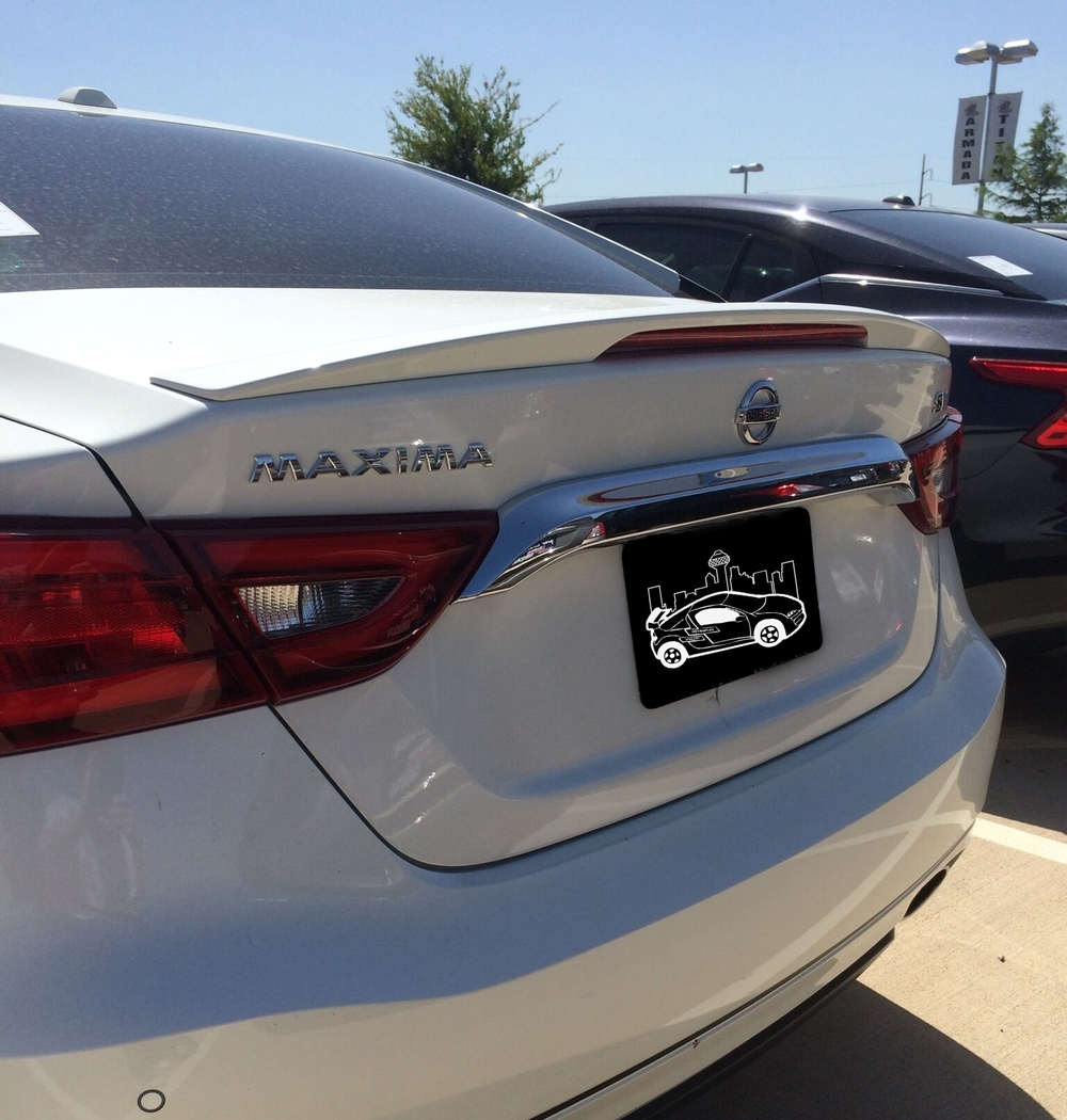 2016+ Nissan Maxima Small Flush Mount Spoiler