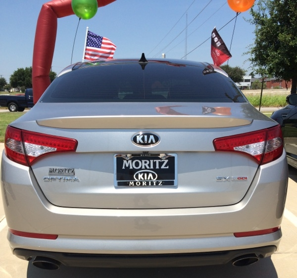 2011-2013 Kia Optima Factory Style Flush Mount Spoiler