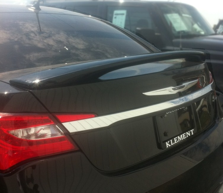 2011-2014 Chrysler 200 2-Post Spoiler