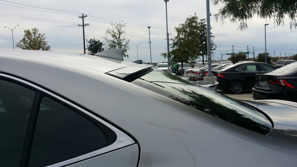 2014+ Lexus IS Roof Mount Spoiler