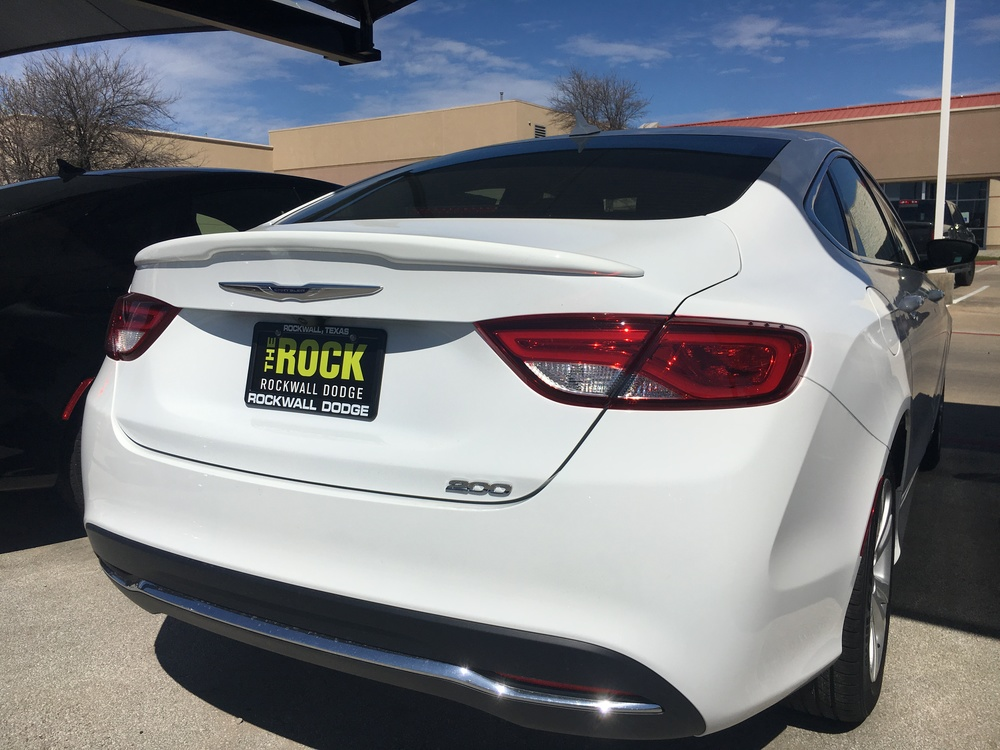 2015+ Chrysler 200 Small Flush Mount Spoiler