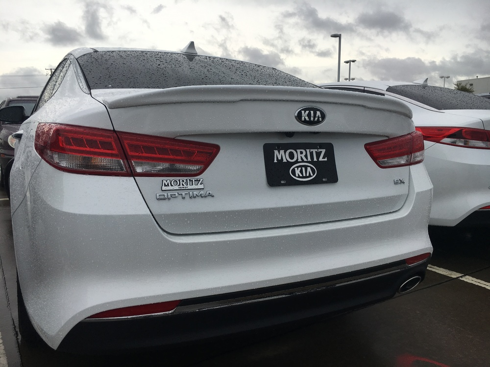 2016+ Kia Optima Custom Flush Mount Spoiler